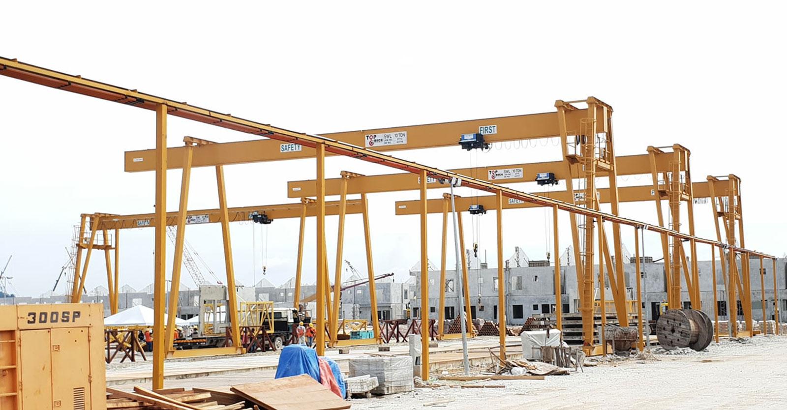 Industrial Crane banner