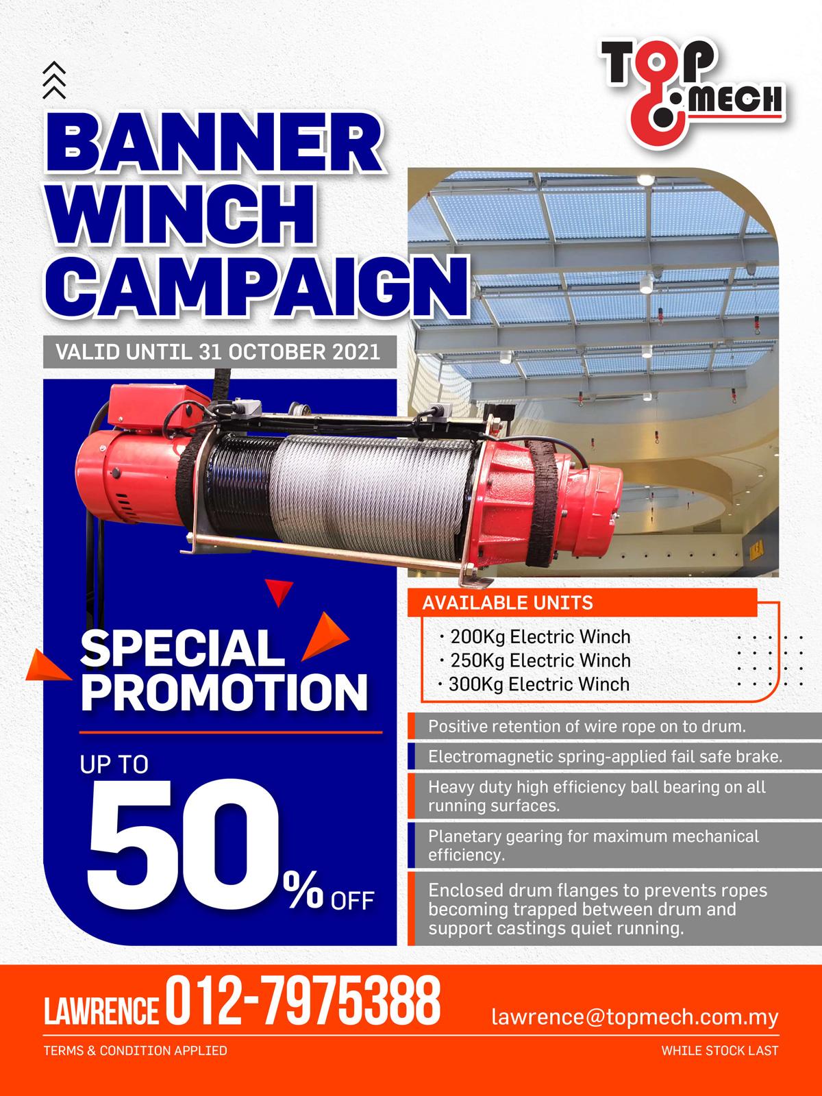 Banner Winch Campaign