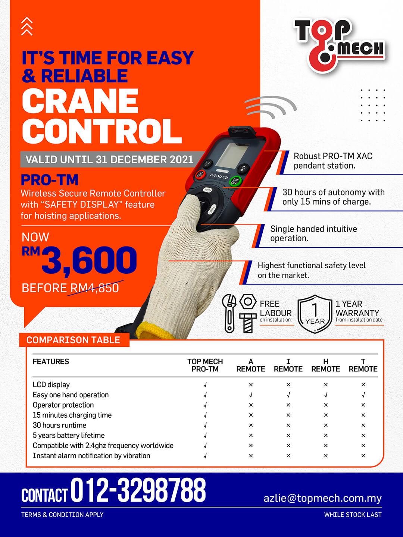 Crane Control Campaign