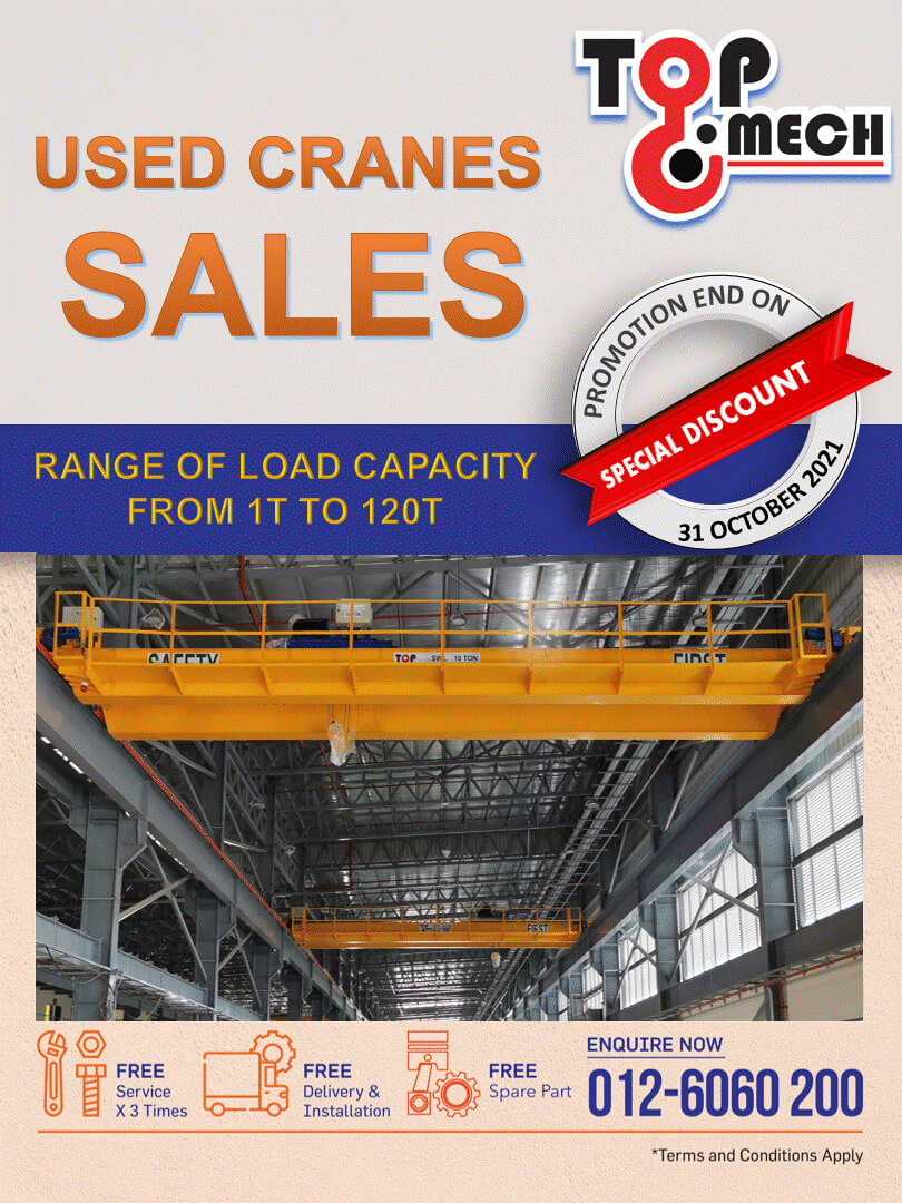 Used Cranes Sales Campaign