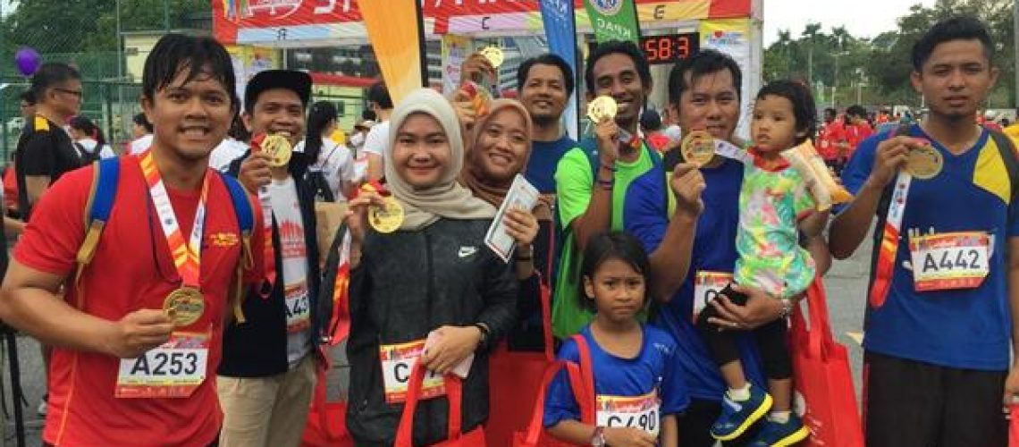 Participation in Charity Runs-02